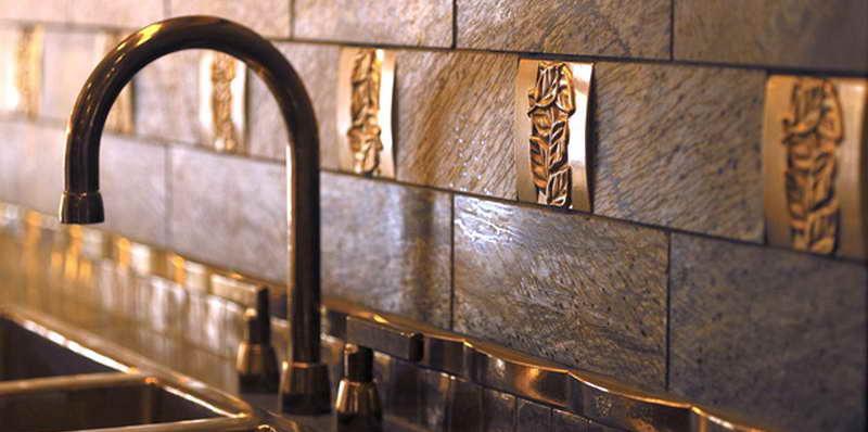 Metal tile