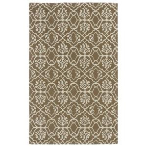 Kaleen Evolution Light Brown 5 ft. x 7 ft. 9 in. Area Rug