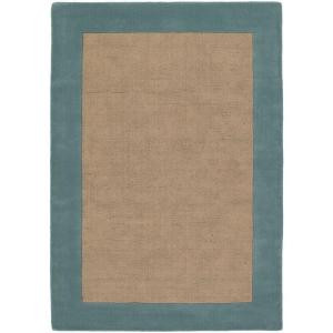 Chandra Hickory Blue/Tan 5 ft. x 7 ft. 6 in. Indoor Area Rug