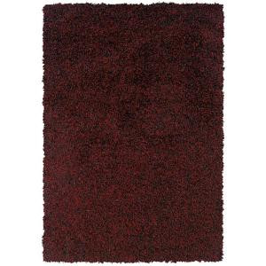 LR Resources OMG Kiss Flame 5 ft. 3 in. x 7 ft. 6 in. Plush Indoor Area Rug