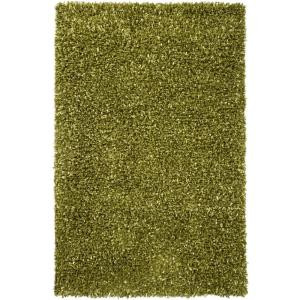 Chandra Riza Green 7 ft. 9 in. x 10 ft. 6 in. Indoor Area Rug