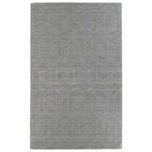 Kaleen Imprints Modern Steel 3 ft. 6 in. x 5 ft. 6 in. Area Rug