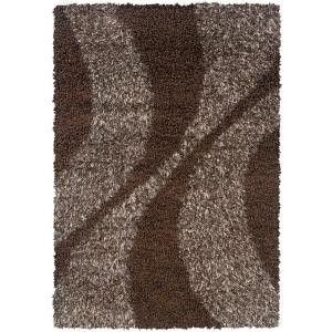 LR Resources LOL Sandalwood 7 ft. 10 in. x 11 ft. 2 in. Plush Indoor Area Rug