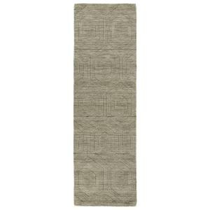 Kaleen Imprints Modern Light Brown 2 ft. 6 in. x 8 ft. Runner