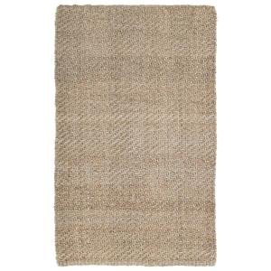 Kaleen Essential Twill Natural 20 in. x 30 in. Area Rug