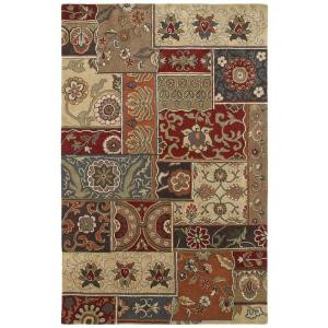 Kaleen Mystic Aral Charcoal 3 ft. 6 in. x 5 ft. 3 in. Area Rug