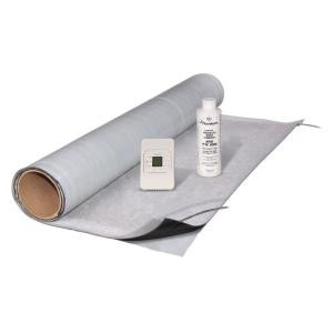 FloorWarm 3 ft. x 5 ft. Under-Tile Heating Kit with Mat, Thermostat and 8 oz. Primer