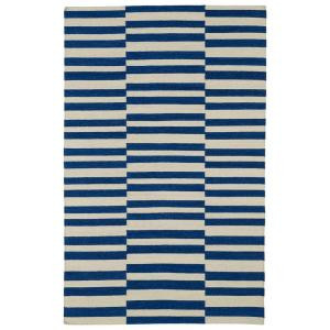 Kaleen Nomad Navy 5 ft. x 8 ft. Area Rug