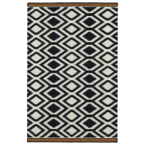Kaleen Nomad Black 8 ft. x 10 ft. Area Rug