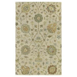 Kaleen Helena Aphrodite Ivory 5 ft. x 7 ft. 9 in. Area Rug