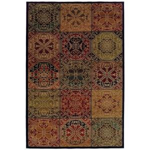 Oriental Weavers Delray Huntsville Multi 3 ft. 10 in. x 5 ft. 5 in. Area Rug