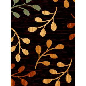 United Weavers Sutra Black 7 ft. 10 in. x 10 ft. 6 in. Area Rug