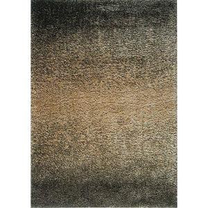 Sizzle Black/Ivory 5 ft. 3 in. x 7 ft. 2 in. Area Rug