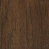 TrafficMASTER Allure Plus Oak Dark Brown Resilient Vinyl Flooring - 4 in. x 4 in. Take Home Sample