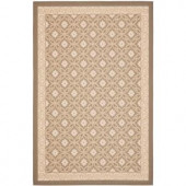Safavieh Courtyard Beige/Beige 5.3 ft. x 7.6 ft. Area Rug