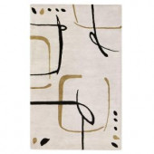 Home Decorators Collection Fragment Snow 9 ft. 6 in. x 13 ft. 6 in. Area Rug