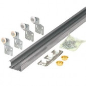 Prime-Line Bi-Pass Closet Door Track Kit