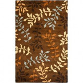 Safavieh Soho Brown/Multi 3.5 ft. x 5.5 ft. Area Rug
