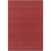 Chandra Amela Red 7 ft. 9 in. x 10 ft. 6 in. Indoor Area Rug