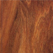 Home Legend High Gloss Natural Mahogany Laminate Flooring - 5 in. x 7 in. Take Home Sample
