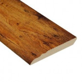 Hampton Bay High Gloss Distressed Maple Honey 12.7 mm Thick x 3-13/16 in. Wide x 94 in. Length Laminate Wall Base Molding