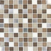 MS International Escorial Blend 1 in. x 1 In. Glass Wall Tile