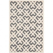 Safavieh Chatham Dark Grey/Ivory 4 ft. x 6 ft. Area Rug