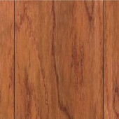 Home Legend Hand Scraped Oak Gunstock 3/8 in.Thick x 4-3/4 in.Wide x 47-1/4in. Length Click Lock Hardwood Flooring(24.94 sq.ft/cs)