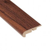 Home Legend High Gloss Makena Koa 11.13 mm in. Thick x 2-1/4 in. Wide x 94 in. Length Laminate Stair Nose Molding