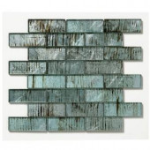 Solistone Folia Glass 12 in. x 12 in. Wisteria Glass Mesh-Mounted Mosaic Tile