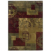 Oriental Weavers Kiawah Crenshaw Multi 8 ft. 2 in. x 10 ft. Area Rug
