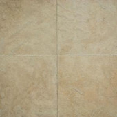 Hampton Bay Ivory Porcelain 10 mm Thick x 15-1/2 in. Wide x 46-2/5 in. Length Click Lock Laminate Flooring