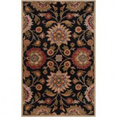 Artistic Weavers Amanda Black Wool 8 ft. x 10 ft. Area Rug