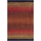 BASHIAN Contempo Collection Multi Ombre Red 2 ft. 6 in. x 8 ft. Area Rug