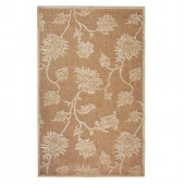 Home Decorators Collection Trellis Natural 5 ft. x 7 ft. 6 in. Area Rug