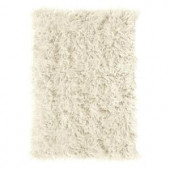 Home Decorators Collection Premium Flokati White 9 ft. x 12 ft. Area Rug