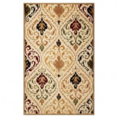 Kas Rugs Tribal Ornate Ivory/Beige 3 ft. 3 in. x 5 ft. 3 in. Area Rug
