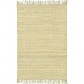 Chandra Saket Beige/Green 3 ft. 6 in. x 5 ft. 6 in. Indoor Area Rug