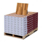 Hampton Bay High Gloss Natural Palm 8mm Thick x 5 in. Wide x 47-3/4 in. Length Laminate Flooring (636.48 sq. ft./pallet)