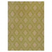 Kas Rugs Chateau Lime/Beige 5 ft. x 7 ft. Area Rug