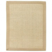Anji Mountain Sandpiper Brown Sisal 10 ft. x 14 ft. Area Rug