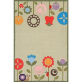 Momeni Caprice Collection Grass 4 ft. x 6 ft. Area Rug