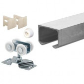 Prime-Line Sliding Closet Door Track Kit