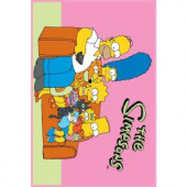 Fun Rugs The Simpsons Family Portrait Multi Colored 39 in. x 58 in. Area Rug
