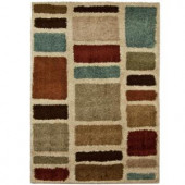 Orian Rugs Moodie Blues Multi 6 ft. 7 in. x 9 ft. 8 in. Area Rug