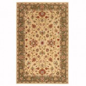 Home Decorators Collection Warwick Gold and Green 9 ft. x 13 ft. Area Rug