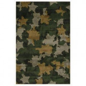 LA Rug Inc. Supreme, Camouflage, Multi Colored 39 in. x 58 in. Area Rug
