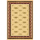 Natco Presidential Jewel Ivory 2 ft. 3 in. x 7 ft. 7 in. Runner
