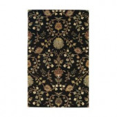 Home Decorators Collection Baroness Deep Charcoal 2 ft. x 3 ft. Area Rug