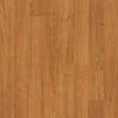 Mohawk Camellia Natural American Cherry Laminate Flooring - 5 in. x 7 in. Take Home Sample